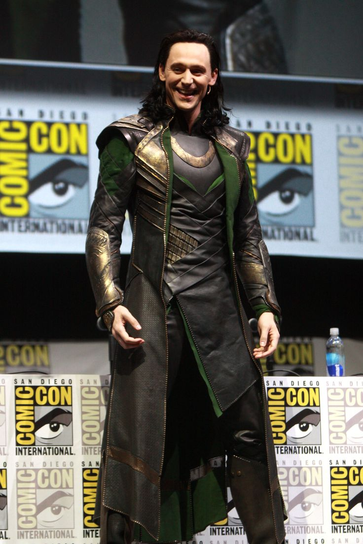 Tom Hiddleston as Loki at the 2013 San Diego Comic-Con International.