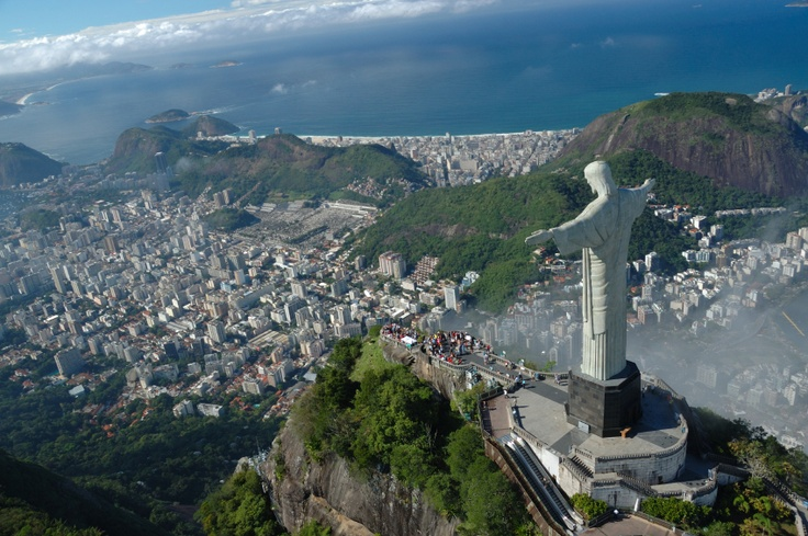 See Christ the Redeemer #travel #brazil