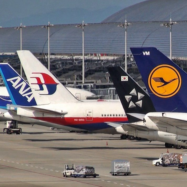 Nice Boeing line up at Osaka's Kansai Airport with the 767 777 and 747!  Last chance to get the Osaka Airport Blu-ray for just $5 the Japan Airport DVD is also just $5 at justplanes.com  Our DVD-Blu-ray store closes for good tomorrow night!! #justplanes #thisisaviation #kansaiairport #boeing #boeinglovers #boeing747 #allnippon #allnipponairways #malaysiaairlines #asiana #asianaairlines #lufthansa #instagramaviation #instaaviation #aviation_lovers #aviationlovers #staralliance #_airplane1…