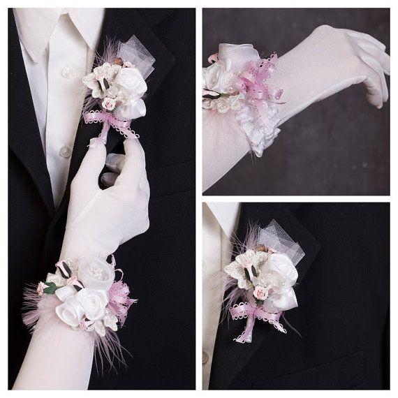 Fleur à la boutonnière bracelet de par lechoixdelamariee sur Etsy