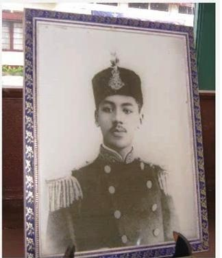 The Royal Regent of Siak, Tengku Besar Syed Syagof.