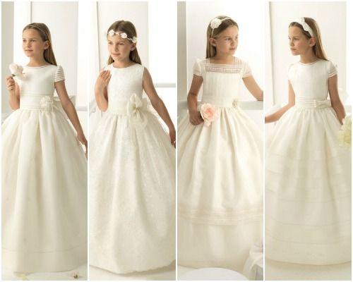 Rosa Clará presenta su primera colección de vestidos de Comunión
