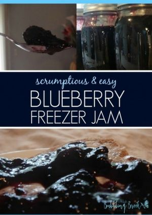 You can make blueberry jam without pectin! Here's my foolproof blueberry jam recipe, with no pectin added and less sugar than many other jam recipes. Enjoy! We'