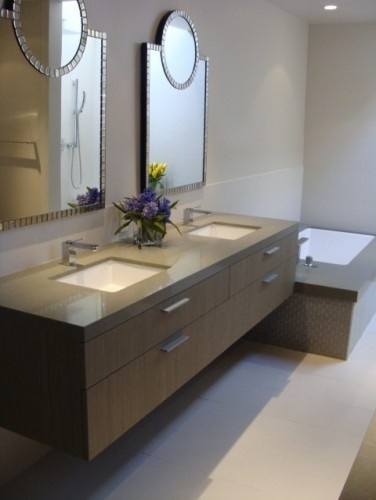 Bathroom: Mirror, Bathroom Design, Floating Vanities, Contemporary Bathrooms, Design Ideas, The Angel, Bathroom Vanities, Bathroom Sinks, Bathroom Ideas