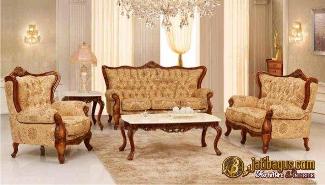 Kursi Tamu Sofa Klasik Terbaru