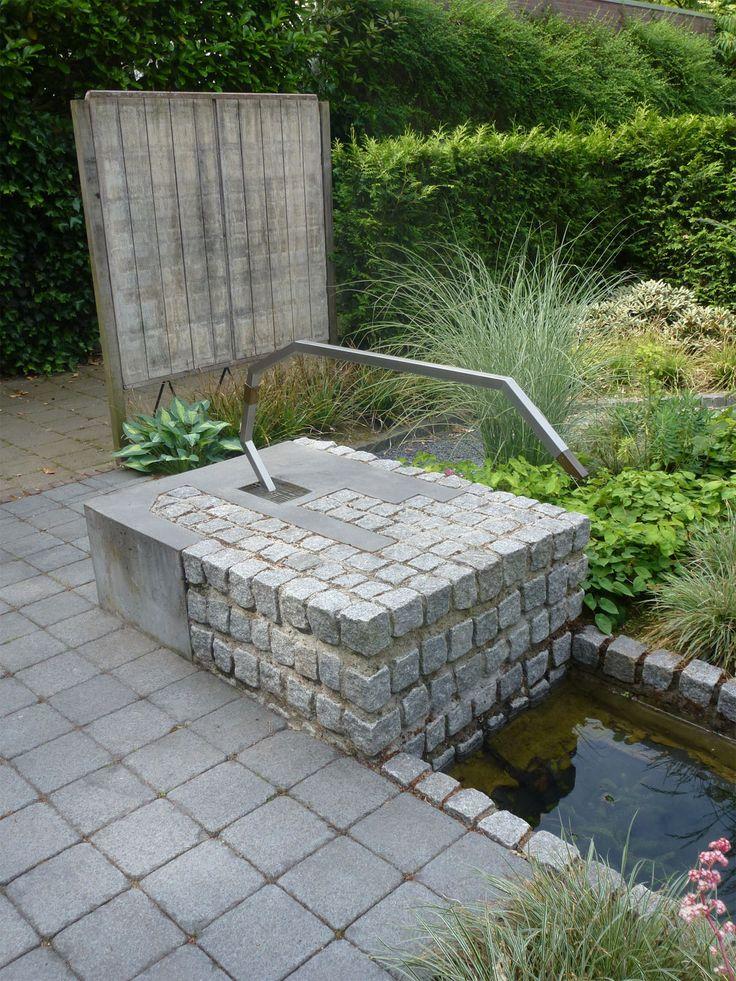 Waterornament en brug atelier ruimtevouwer fontein for Waterornament tuin