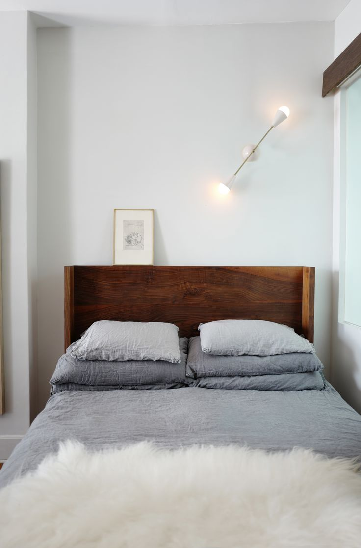 A #Design Duo's 19th-Century #Brooklyn #Townhouse Is Filled With #Art They Love - Dwell #bedroom