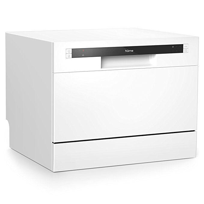 Homelabs Compact Countertop Dishwasher Portable Mini Dish Washer