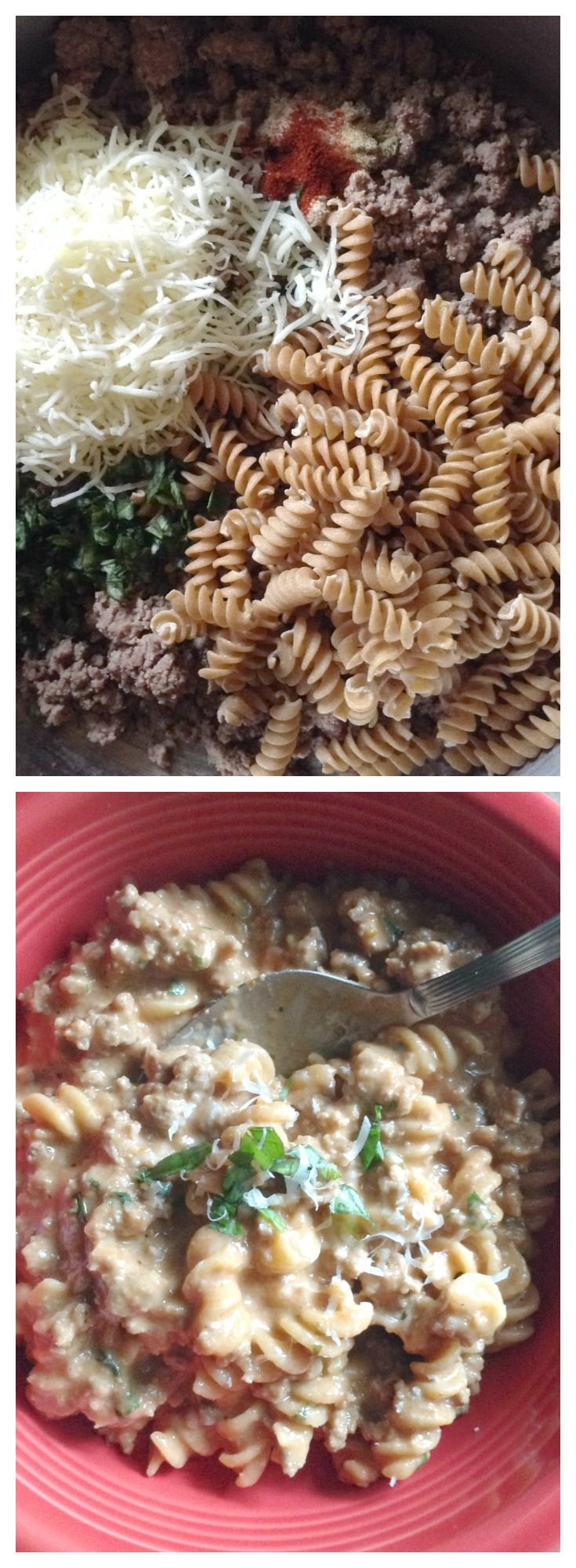 Unprocessed Hamburger Helper Lasagna Style. The pinners pinned and I listened! You loved the original Hamburger Helper so here is the Lasagna Hamburger Helper. No MSG, no additives, no trans fat! All real ingredients!