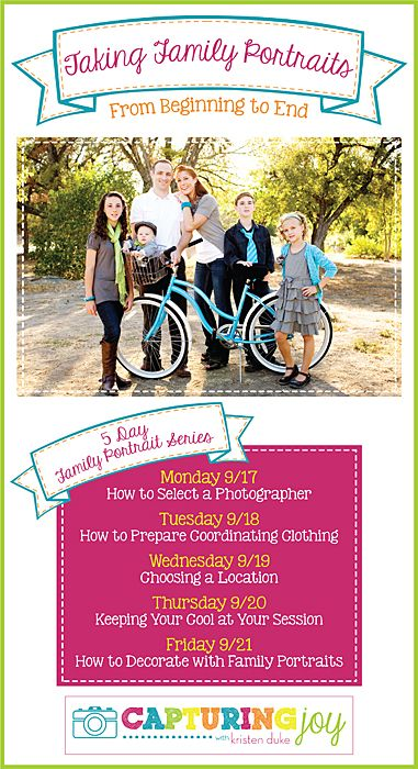 Taking Family Portraits from Beginning to End #family #photography #pictures www.KristenDuke.com