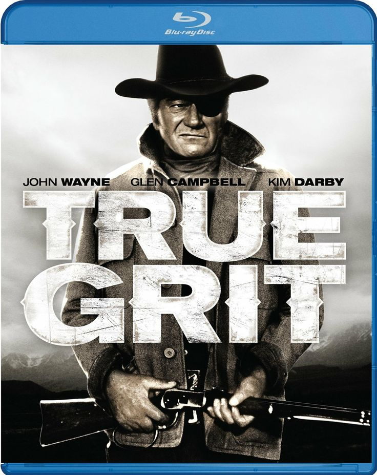 True Grit (2013) ($9.49) - Supporting roles are well cast which includes Kim Darby, Glen Campbell and Robert Duvall. - Whether you like westerns or you don't, you can enjoy this movie for it's story line, the action, great scenery and acting. - I feel that any older movie that is transfered from an VHS or even a DVD to a Bluray has superior picture and sound quality and so will YOU!! http://www.amazon.com/exec/obidos/ASIN/B00AEBB9U0/hpb2-20/ASIN/B00AEBB9U0