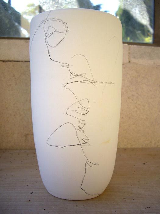 @Kara Morehouse Morehouse - kittysabatier.com  **jump off for painted pottery**