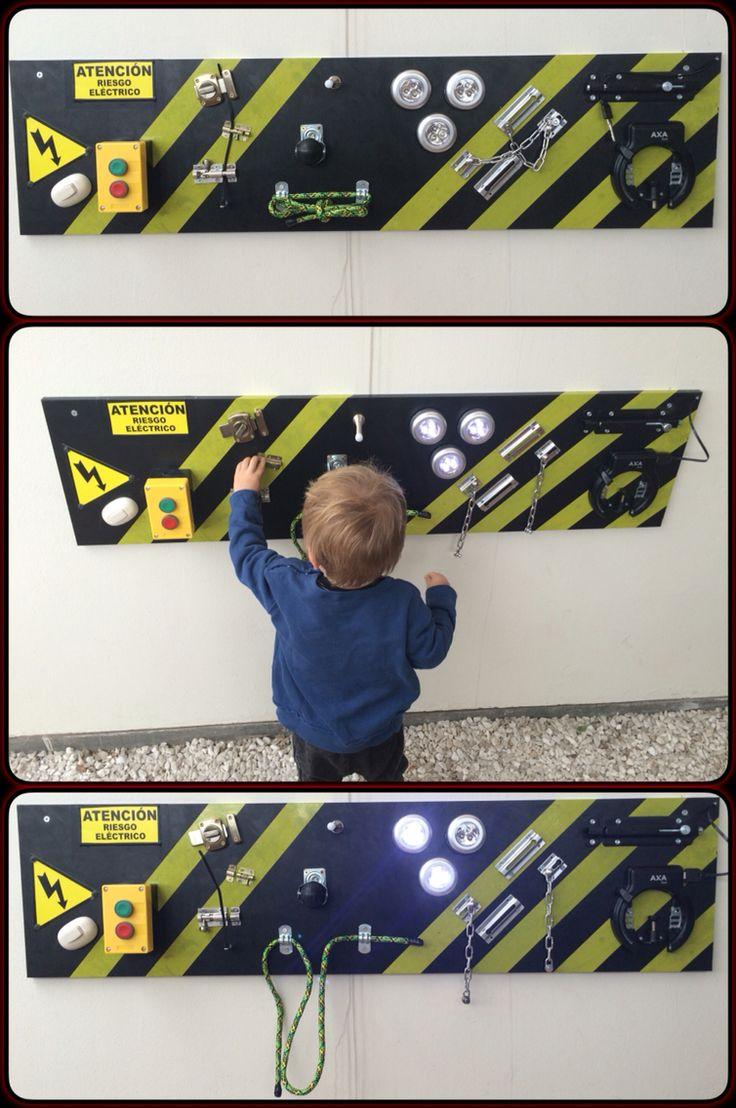 #creative #wall #board #lock #boys #danger #fun #fingerskill