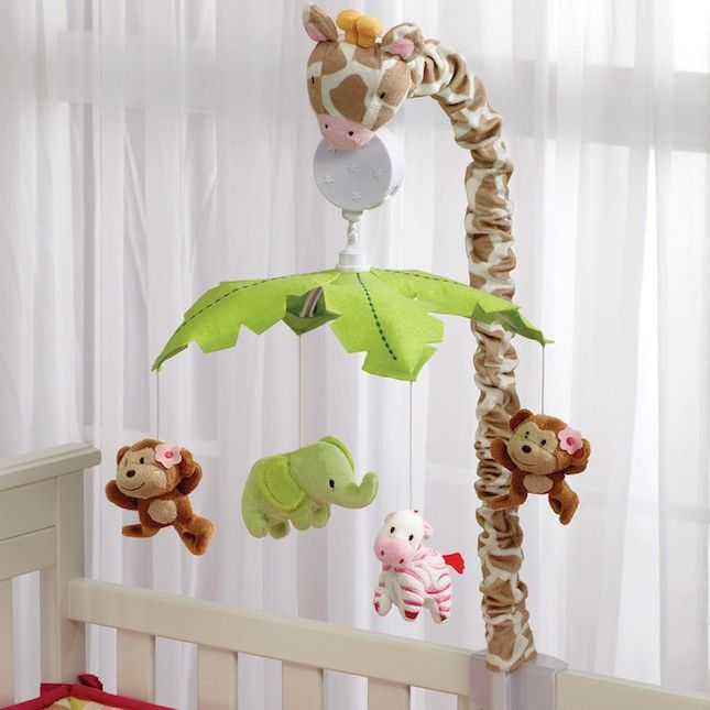 Make sleep easier with this adorable safari mobile.
