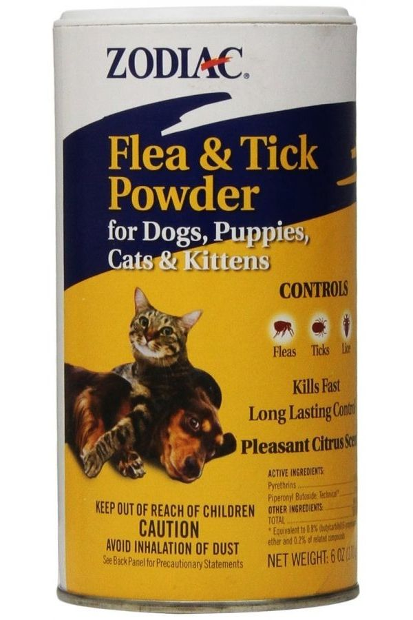 Zodiac Flea Tick Powder For Dog And Cat Cat Fleas Flea Powder For Dogs Flea Powder For Cats