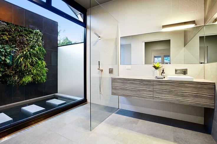 Bathroom Green Wall