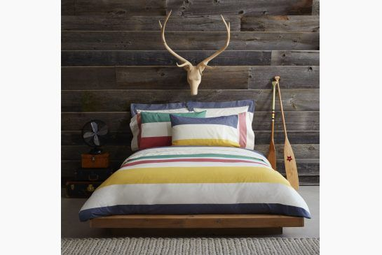 COZY CANADIANA: Classic HBC Signature bedding that you'll never tire of. Prices range from $35-250. At select Hudson's Bay stores and www.th...