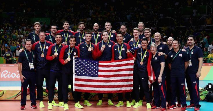 Estación Voleibol: USA MEDALLA DE BRONCE AL VENCER 3-2 A RUSIA EN VOLEIBOL…