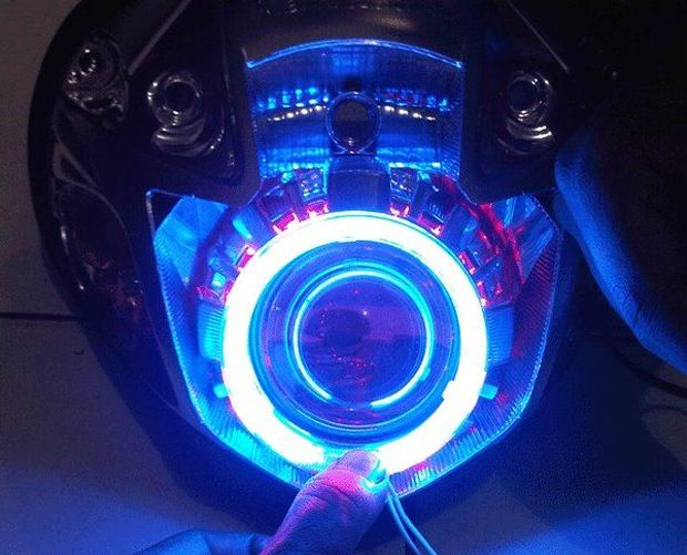 Kelebihan dan Kekurangan Motor Pakai Lampu LED - http://bintangotomotif.com/kelebihan-dan-kekurangan-motor-pakai-lampu-led/