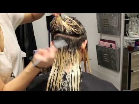 shadow root toning and color melting - YouTube