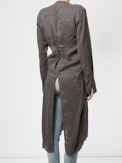 Shop Greg Lauren long 'Studio tux' shirt with square bib in L'Eclaireur from the world's best independent boutiques at farfetch.com. Shop 400 boutiques at one address.