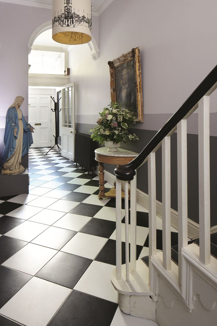 Winner sarah moore s winning makeover of the hallway from bbc2 s the great interior design challenge as
