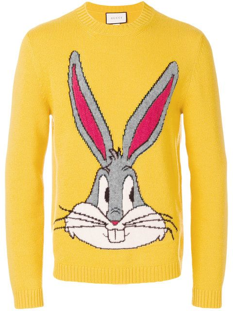 7050530598a1 Gucci Bugs Bunny Sweater - Farfetch   want   Sweaters, Bugs bunny, Gucci