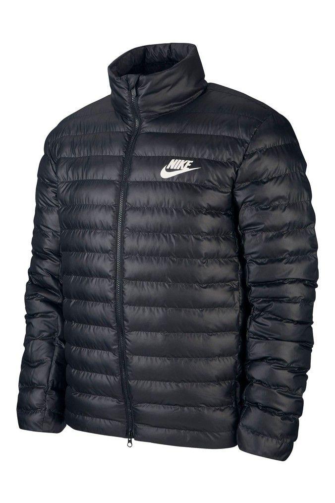 Fielmente los padres de crianza acidez  Mens Nike NSW Bubble Jacket - Black   Jackets, Nike men, Nike