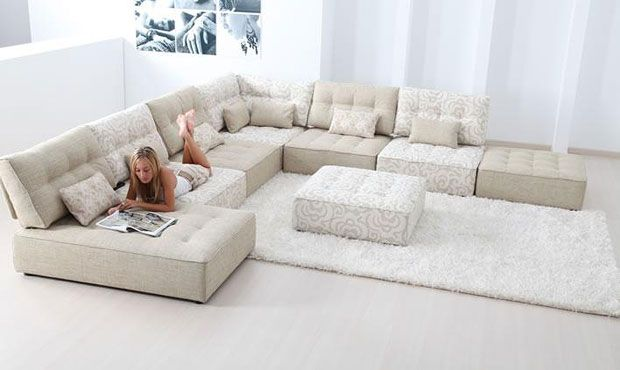 Alice Modular Leather Sofa - High Quality, Hand Crafted Leather Sofas: Darlings of Chelsea