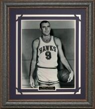 Bob Pettit Basketball Photo Framed