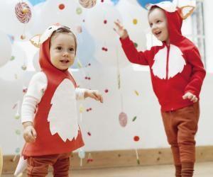 Kirsten und Frauke von Designer Brause haben ihr Hobby zum Beruf gemacht: Aus der Leidenschaft für verrückte Mottopartys ist ein DaWanda-Shop mit Kinderverkleidungen entstanden. Für uns haben sie sich was Lustiges für ganz kleine Jecken ausgedacht – zum Nachnähen.