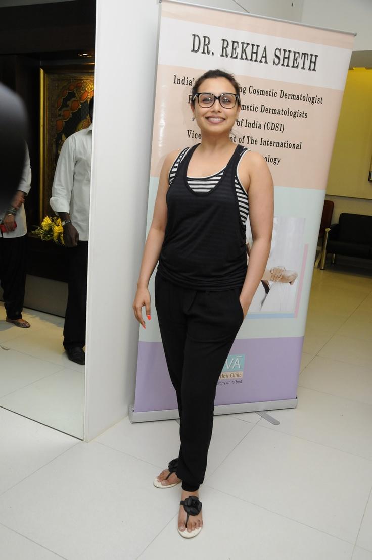 Rani Mukherjee at Dr. Rekh Seth's Celebration Event.