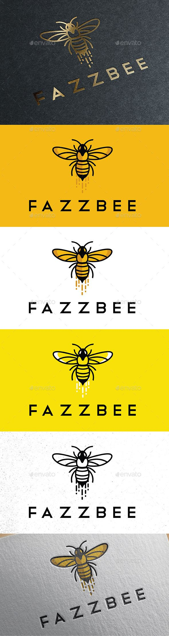 Fazz Bee The 976 best Animal Logos