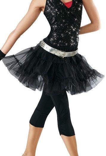 Petticoat Tiered Dance Skirt | Balera™