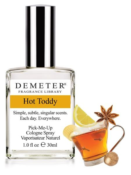 Hot Toddy - Hot Toddy Here's a soothing scent for you-Hot dark rum, creamed butter, brown sugar and lemon, topped with cinnamon and nutmeg. This is a variation of Hot Buttered Rum, which the English (Americans too) have been drinking for centuries, also known as Grog.