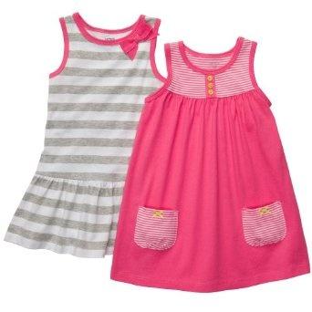 Baju Bayi Perempuan Lucu - Carters 2-pk. Stripe Set Baju | Pusat Baju Bayi Terbesar dan Terlengkap Se indonesia