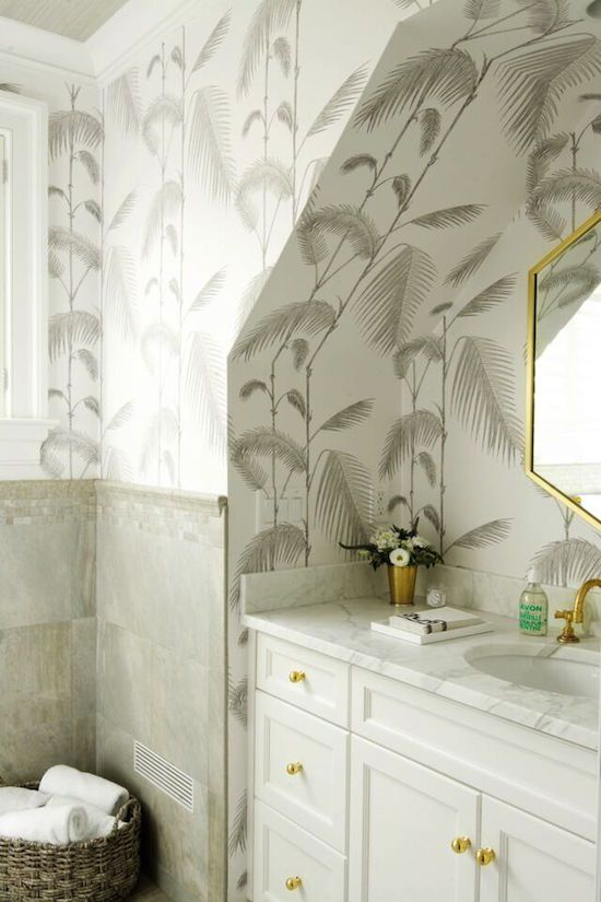 Best Posh Powder Rooms Images On Pinterest Bathroom - Paper bathroom guest towels for bathroom decor ideas