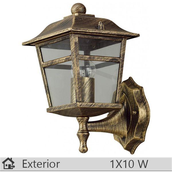 Aplica iluminat decorativ exterior Klausen, gama Colorado, model nr1 Bronz http://www.etbm.ro/