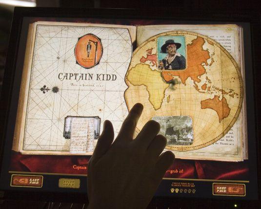 interactive pirate book