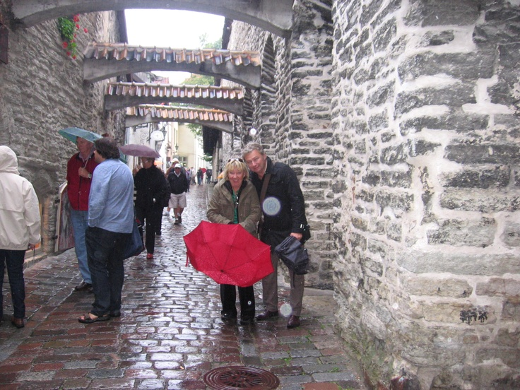 I also visited Tallinn, Estonia.  Historic old Tallinn...hours and hours of walking and saw amazing old buildings.