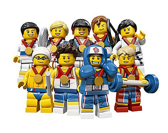 Lego team GB minifigs. Want.