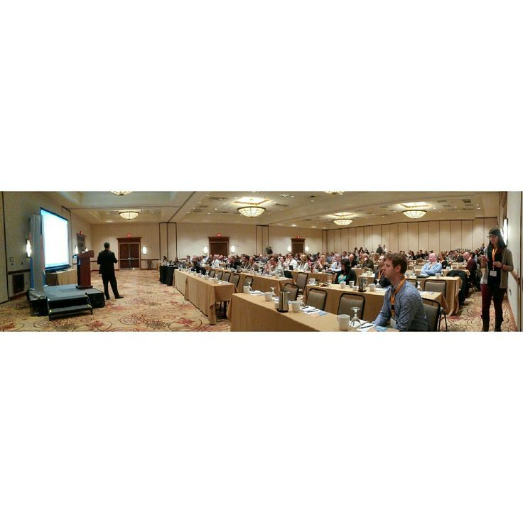 Panoramic view of the Morgantown-Google Event taken by our awesome intern, Adriana!
