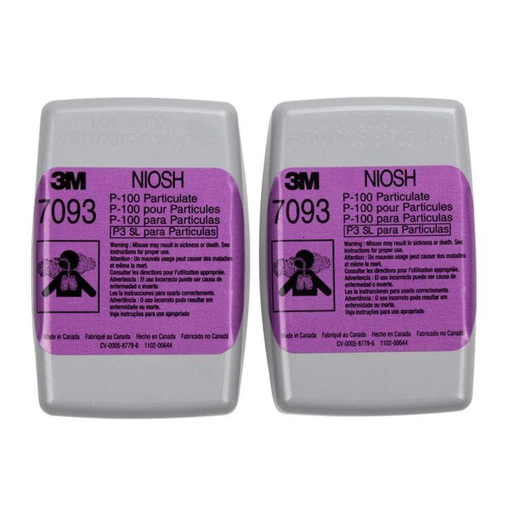 3M Cartridge Particulate Filter 7093, P100 - 60 EA/Case.  - Saringan NIOSH Filterisasi sampai 99,97% - Memberikan perlindungan pernafasan terhadap bahaya timbal, asbes, kadmium, arsenik, dan MDA. - Cocok untuk welding, brazing, torch cutting, metal pouring and soldering - Price per 60 each/case.  http://tigaem.com/respirator-masker/2021-3m-catride-particulate-filter-7093-p100-60-eacase.html  #particulatefilter #respirator #3M