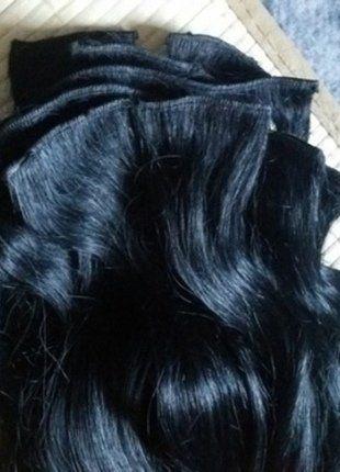 Kaufe meinen Artikel bei #Kleiderkreisel http://www.kleiderkreisel.de/kosmetik/haarpflege-zubehor/138509393-echthaar-extensions-schwarz-60-cm