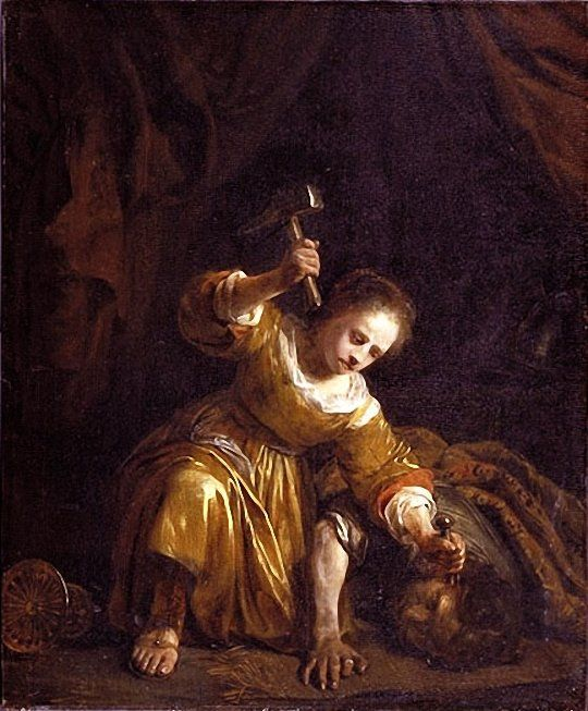 Ян де Брей, 1656. Иаиль.