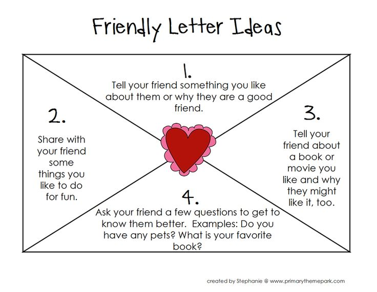The 25+ best Friendly letter ideas on Pinterest Letter writing - friendly letter format template
