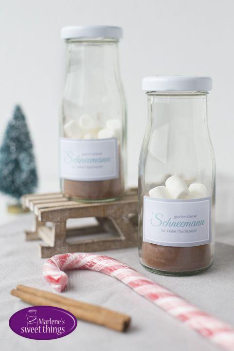 Geschmolzener Schneemann Kakao - Melted Snowman Chocolate