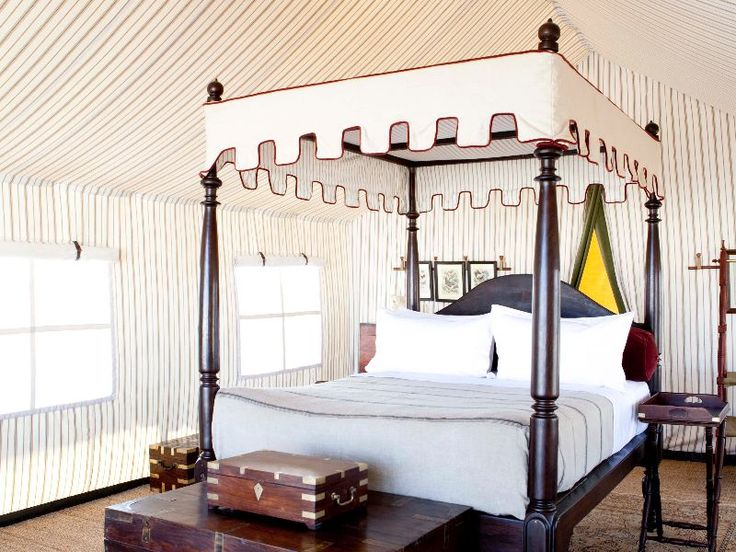 When sleeping under canvas is something to aspire to! #undercanvas #glamping #WanderlustWednesday