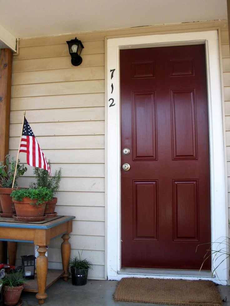 Chipotle paste behr paint for front door exterior house pinterest doors behr paint and lilies - Front door paint colors ...