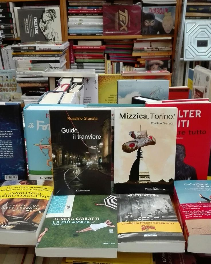 """Presso la libreria """"Eleste"""" di via Passo Boule, 59/c, Torino, troverete i miei due romanzi: """"Guido, il tranviere"""" e """"Mizzica, Torino!"""", cosa aspettate? Correte! Buona lettura!"""